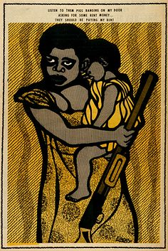 Black Panther Party poster, Emory Douglas
