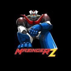 Camiseta niño mazinger Z. Sentado
