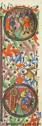 Book of Hours, MS M.64 fol. 129r - Images from Medieval and Renaissance Manuscripts - The Morgan Library & Museum