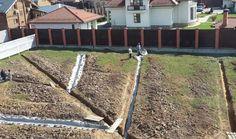 Дренаж участка любого вида почвы в любых условиях!