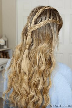Game of Thrones Halloween Hairstyle
