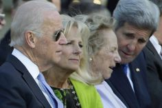 Vice President Joe Biden, Dr. Jill Biden, Ethel Kennedy and John Kerry