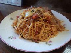 まんまてんや - 料理写真:ボルチーニ・アラビアータパスタ