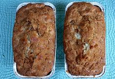 Banana Bread w/ cinammon streusel topping....must try!!!
