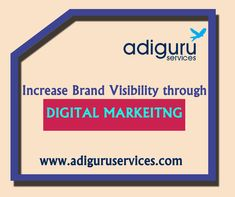 Are you looking for best digital marketing services? Adiguru services offers you the best and cost-effective digital marketing services for any kind of online business needs. Online Marketing Services, Social Media Services, Seo Services, Email Marketing, Social Media Marketing, Google Ads, Online Business, Facebook, Website