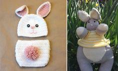 Easter eggcitement! FREE knitting & crochet patterns - blog post!