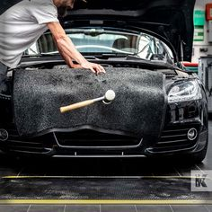 Protect the paintwork and the floor from falling objects. Mats are so versatile, wiping the feet at the door is only the first step. #KleenTexEurope #garagelife #garageflooring #bodywork #floorprotection #MakeMoreOfYourFloor Falling Objects, Floor Mats, United Kingdom, Flooring, England, Wood Flooring, Floor, Area Rugs