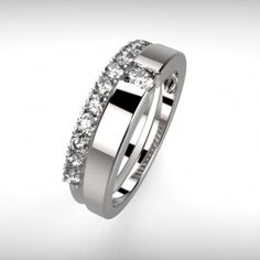 Perfect Diamond Engagement Ring - Comtemporary Love