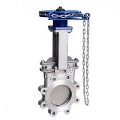 CHAIN WHEEL KNIFE GATE VALVE  Chain Wheel Knife Gate Valve will operate by a disc moving up and down to control flow and isolate a pipeline. Using a chain wheel to open and close the valve.   please do contact us at - vhttp://dewaterproducts.com.au/product-category/knife-gate-valve/