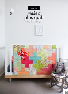 How to make a Plus Quilt