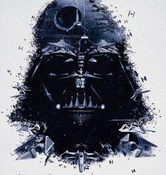 Darth Vader Mosaic.