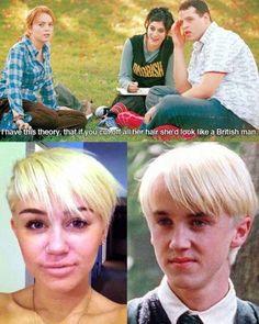 Mean Girls • Miley Cyrus - A British man?
