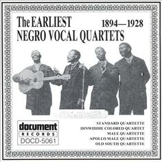 Gospel quartets were groups who performed in religious settings using four-part harmonies to sing songs. The groups developed during Reconstruction and were influenced by college jubilee singing groups, minstrel shows, and shape-note singing.