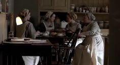 Downton Abbey Season 4: Kitchen Staff with Mrs Patmore