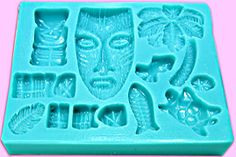 Poly Clay Play offers polymer clay and rubber stamping products at unbeatable prices. Tahiti, Tiki Party, Luau Party, Tiki Decor, Tiki Lounge, Handmade Furniture, Modern Furniture, Furniture Design, Tiki Room