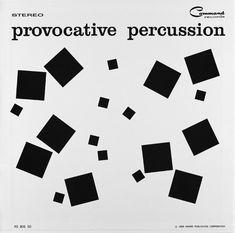 Enoch Light: Provocative Percussion (1959) album cover by Josef Albers.