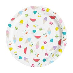 Summertime Plates by My Little Day