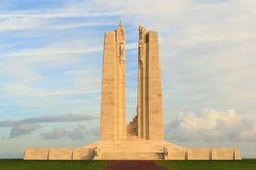 The Canadian National Vimy Ridge Memorial in France. The Canadian National Vimy , Canada 150, World War I, Worlds Of Fun, Nice, Tourism, France, Memories, Image, War Memorials