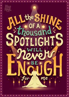 Never enough | The Greatest Showman Lyric Posters (7/?) Facebook | Instagram | Society6 | RedBubble | TeePublic