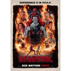 New Deadpoool IMAX Poster. Stan Lee Cameo Too it Seems.  #twelvedaysofdeadpool #marvel #ryanreynolds #colossus #deadpoolmovie #stanlee #FLYGUY #twitter #googleplus