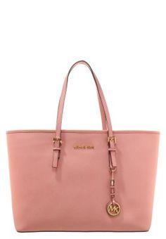 JET SET TRAVEL - Torba na zakupy - pale pink