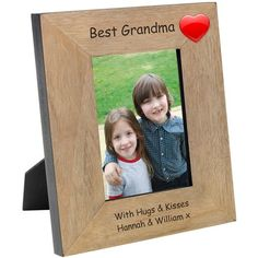 Engraved The Bestest Daddy Wood Photo Frame - from Personalised Gifts Shop - ONLY Mothers Day Special, Happy Mothers Day, Special Person, Engraved Gifts, Personalised Gifts, Jelly Tots, Happy Birthday Love, Baby Design, Best Dad