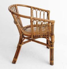 My Island Home   Surf Lodge Cane Chair   Natural