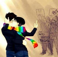 Cute!! #LGBT #FCKH8