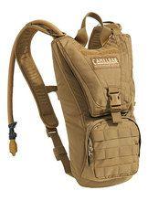 Camelbak Ambush 100 oz/3.0L, Mil-Spec Antidote (Short) Reservoir, Coyote Brown
