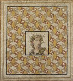 Mosaic floor panel, Antioch