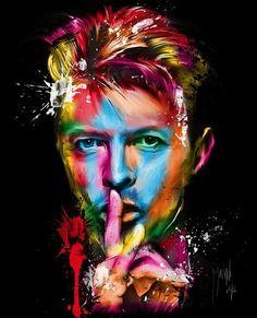 Art - Pop Painting of David Bowie - by French artist Patrice Murciano Ziggy Stardust, Murciano Art, Patrice Murciano, Poster A3, Art Posters, Canvas Poster, Framed Canvas, Pop Art, Trip Planner