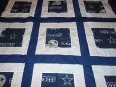 DALLAS-COWBOYS-blue-BABY-QUILT-36-x-35-SALE-FREE-SHIPPING
