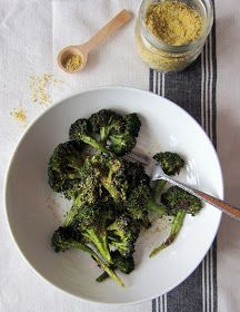 """Cupcakes and Kale: Roasted Broccoli & Hemp """"Parmesan"""" 