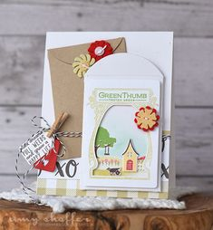 Pickled Paper Designs: Introducing Petite Places: Home & Garden