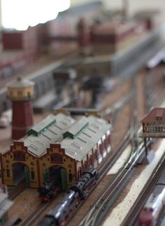 New pinterest board is Model Eisenbahn - Model Railway #trains #HO #H0