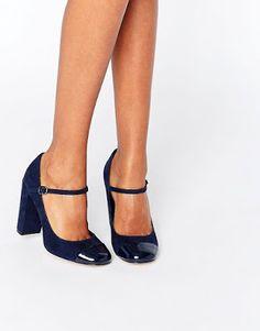 Zapatos de Tacon Bajo sencillos