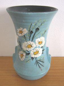 Vintage 1930 S Brentleigh Ware Art Deco Vase Monkton