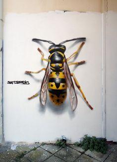 Best Street Art, 3d Street Art, Street Artists, Banksy Graffiti, Best Graffiti, Murals Street Art, Street Art Graffiti, 3d Street Painting, Eyes Artwork