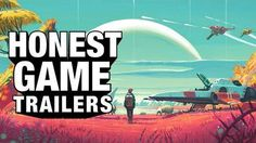 The Honest Trailer for 'No Man's Sky' is savage and unforgiving -> http://mashable.com/2016/08/24/no-mans-sky-honest-trailer/   Arguably one of the most hyped video game releases of the year No Man's Sky has been met with a reception more mixed than bag of mixed nuts.  The galaxy-exploration game has been dissed for everything from its repetitive game play to  missing multi-player function so logic and reason would dictate that the game gets an Honest Game Trailer now.  And said trailer has…