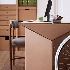 Cardboard Furniture by KARTON