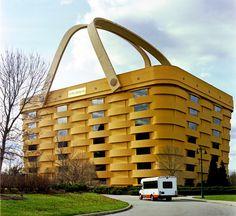 The Basket Building (Ohio, United States) #ohio #building #unusual