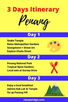 Are you planning a trip to Penang Malaysia? Although it is a small island, there are lots of things to do in Penang and lots of great food to try! Check out this perfect Penang itinerary that covers all the spots you shouldn't miss! #penang #penangtravel #penangmalaysia #malaysiatravel #smallisland #penangitinerary #travelasia #explore Budget Travel, Travel Tips, Travel Destinations, Malaysia Travel Guide, Spice Garden, Small Island, Travel Information, Plan Your Trip, Asia Travel