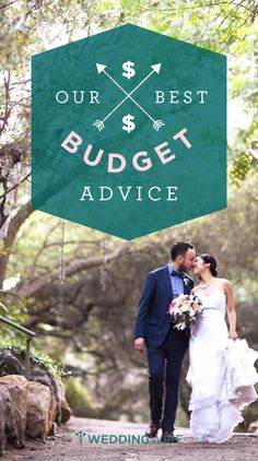 Listen up future brides and grooms! In addition to everything else going on in your lives, planning a wedding can be stressful and hard on your wallet - here is @weddingwire's best advice for setting your #budget!