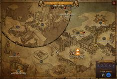 Towns too hard to see on new Diablo 3 Waypoint Map? Fans suggest easier visuals and identification.