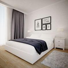 Скандинавский стиль. Спальня