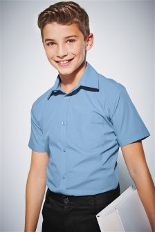 Two Pack Short Sleeve Shirts (3-16yrs)