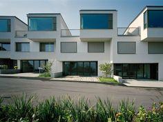 """best architects architektur award // pool Architekten / Reihenhäuser """"blue notes"""", Richterswil / best architects 13 / Wohnungsbau"""