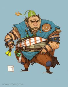 Fat Alchemist by Sidxartxa.deviantart.com on @deviantART
