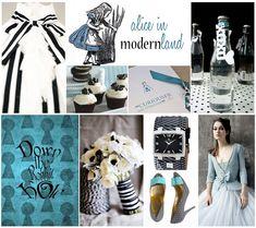 Alice in Modernland Wedding