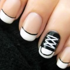 Converse nails christel these r so u